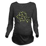 Growth Vines Long Sleeve Maternity T-Shirt