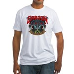 Baboon Rising Fitted T-shirt (Made in the USA)