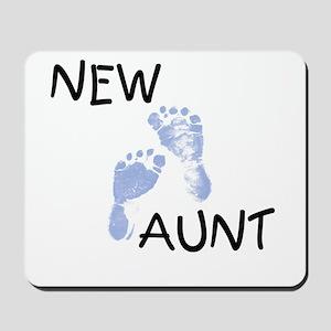 New Aunt (blue) Mousepad