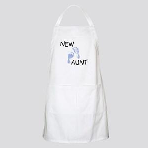 New Aunt (blue) BBQ Apron