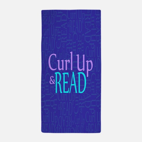Curl Up and Read Beach Towel