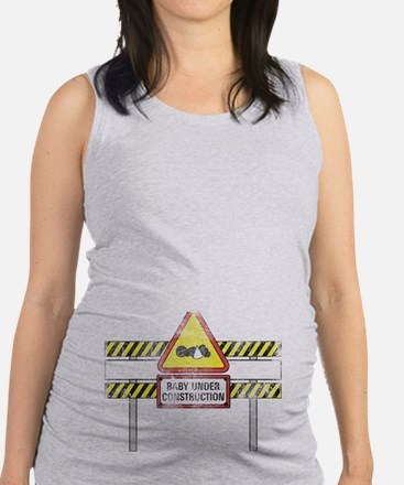 Under Construction Maternity Tank Top