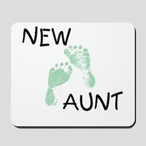 New Aunt (green) Mousepad