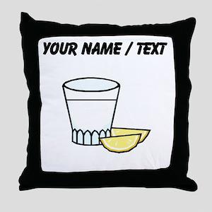 Custom Shot Glass Throw Pillow
