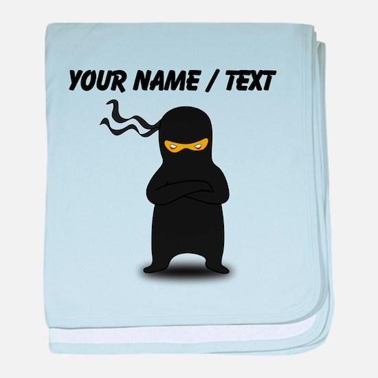 Custom Ninja baby blanket
