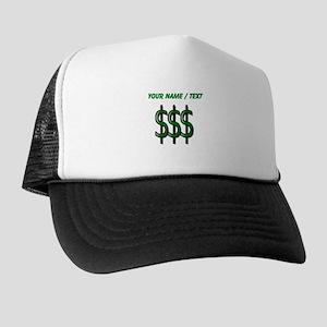 Custom Dollar Signs Trucker Hat