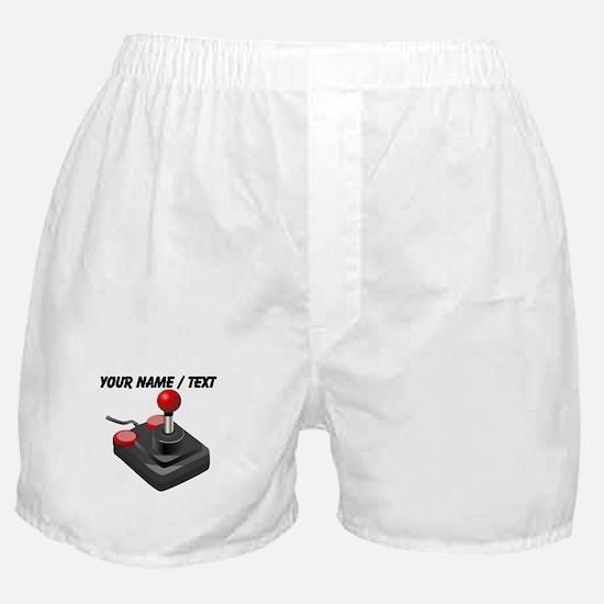 Custom Joystick Boxer Shorts