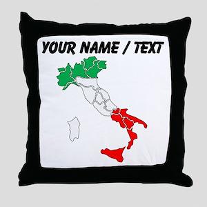 Custom Italy Throw Pillow
