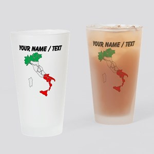 Custom Italy Drinking Glass