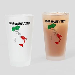Custom Italy Drinking Glass
