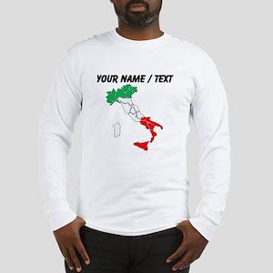 Custom Italy Long Sleeve T-Shirt