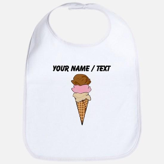 Custom Ice Cream Cone Bib