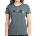 Free Liberty Women's Dark T-Shirt