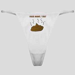 Custom Poop Classic Thong