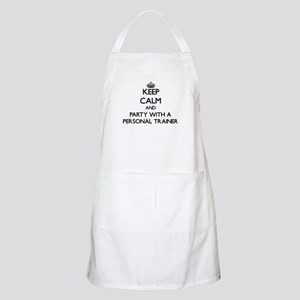 Keep Calm and Party With a Personal Trainer Apron
