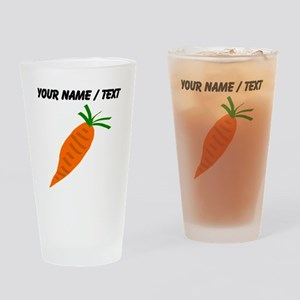 Custom Carrot Drinking Glass