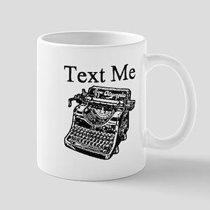 Text Me-Typewriter-1 Mugs