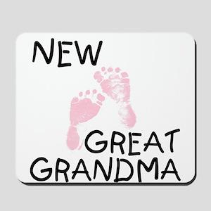 New Great Grandma (pink) Mousepad