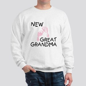 New Great Grandma (pink) Sweatshirt