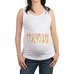 January Baby Blocks Maternity Tank Top