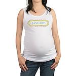 January Label Maternity Tank Top