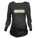 May Label Long Sleeve Maternity T-Shirt