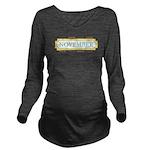 November Label Long Sleeve Maternity T-Shirt