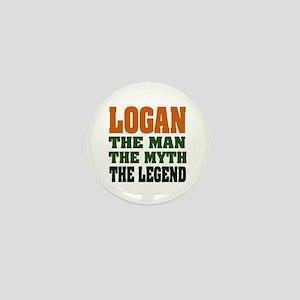 LOGAN - the legend! Mini Button