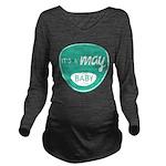 Sea May Long Sleeve Maternity T-Shirt