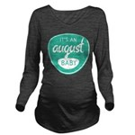 Sea August Long Sleeve Maternity T-Shirt