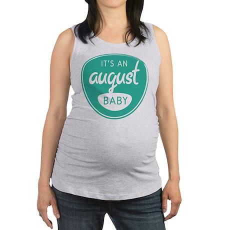 Sea August Maternity Tank Top
