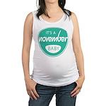 Sea November Maternity Tank Top