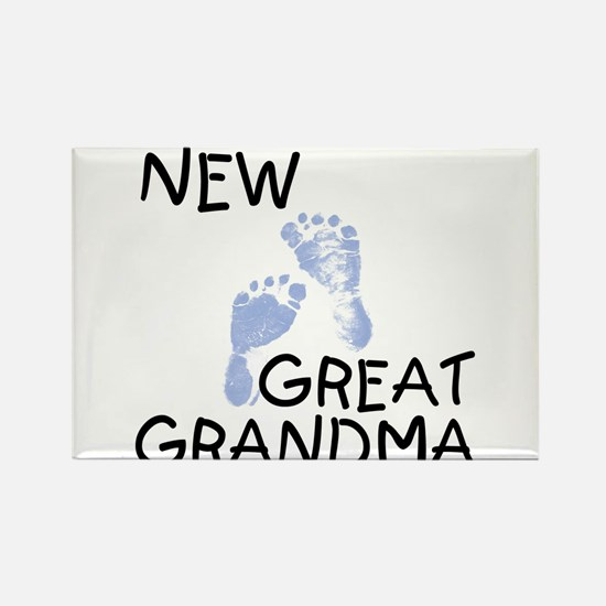 New Great Grandma (blue) Rectangle Magnet