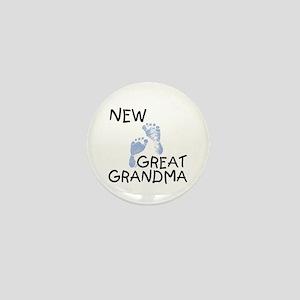 New Great Grandma (blue) Mini Button
