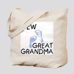 New Great Grandma (blue) Tote Bag