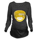 Yellow May Long Sleeve Maternity T-Shirt
