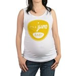 Yellow June Maternity Tank Top
