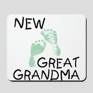 New Great Grandma (green) Mousepad