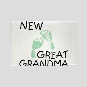 New Great Grandma (green) Rectangle Magnet