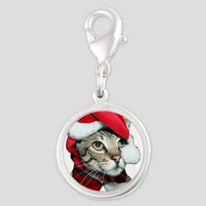Santa Cat Savannah Charms