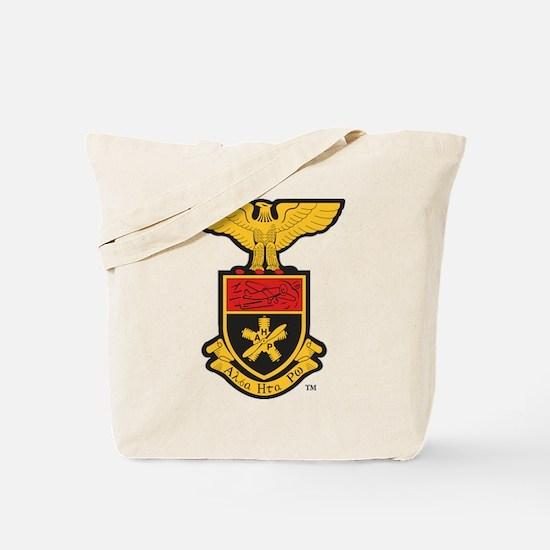 Alpha Eta Rho Crest Tote Bag