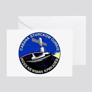 STS-88 Endeavour Greeting Cards (Pk of 10)