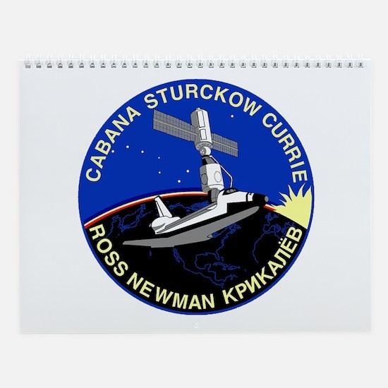 STS-88 Endeavour Wall Calendar