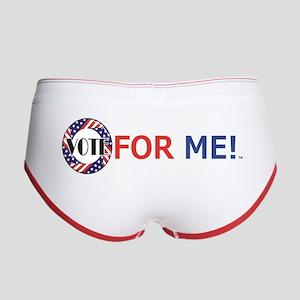 Vote For Me Women's Boy Brief