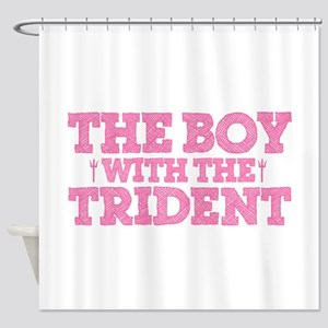 The Boy With The Trident Shower Curtain