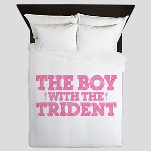The Boy With The Trident Queen Duvet