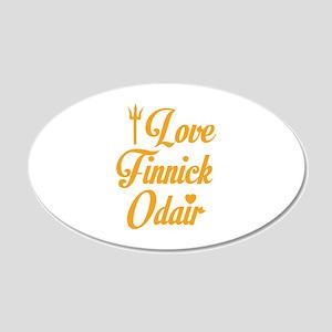 I Love Finnick Odair 22x14 Oval Wall Peel