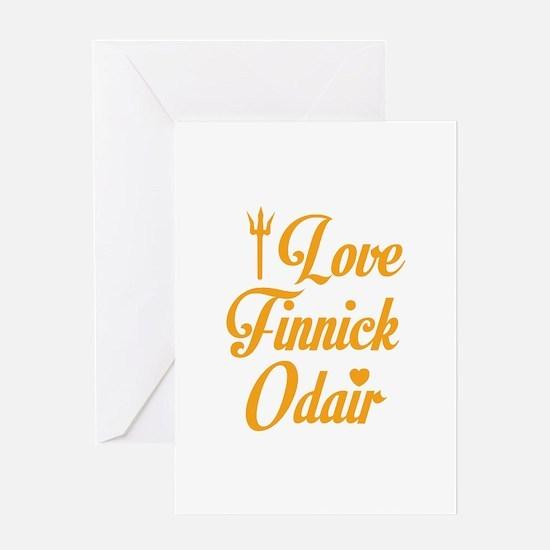 I Love Finnick Odair Greeting Card