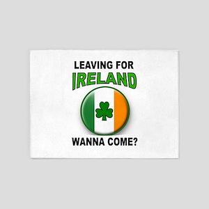 IRISH GOODBYE 5'x7'Area Rug