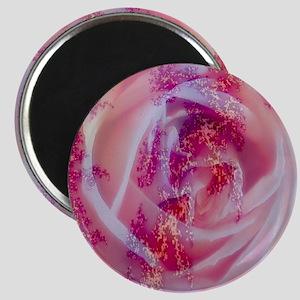 fractal rose Magnets